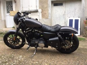 Sacoches Myleatherbikes Harley Sportster Forty Eight (59)